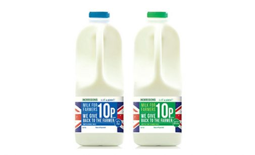 British Consumers Support Morrisons 'Milk for Farmers'