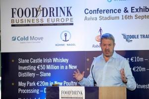 Colin Gordon, Chief Executive of Glanbia Consumer Foods.