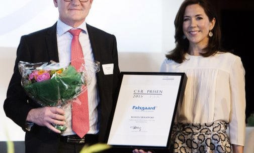 Palsgaard 2014 CSR report wins top award