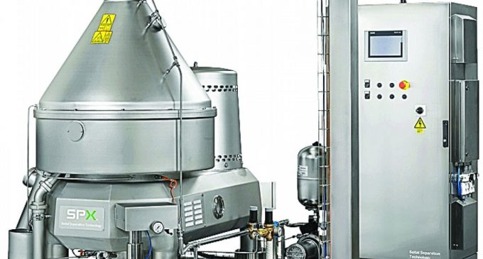 Exceptionally High Efficiency Separation and Clarification for Food and Beverage Production