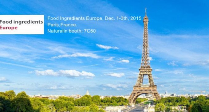Food ingredients Europe & Natural ingredients 2015 returns to Paris
