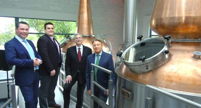 Connacht Whiskey Distillery Opens