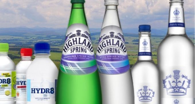 Highland Spring Group Enters Distribution Partnership With Lucozade Ribena Suntory