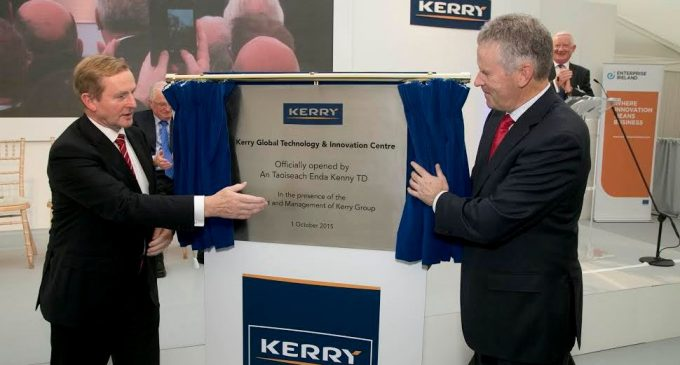 Opening of Kerry Group's €100 Million Global Technology & Innovation Centre in Ireland