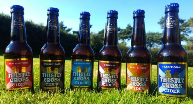 Scottish Cider Maker Introduces US Craft Cider in Cans to the UK