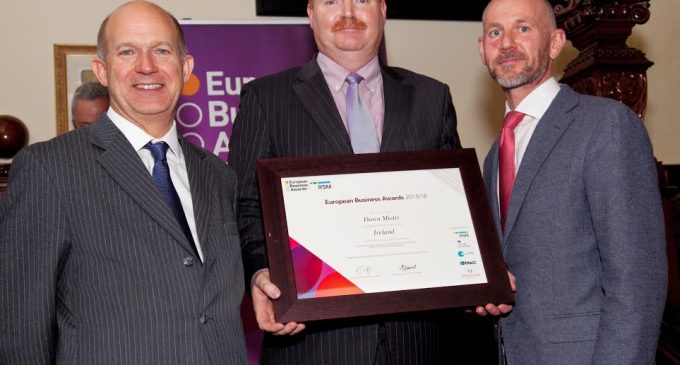 Dawn Meats Named Irish National Champion in the European Business Awards 2015/16