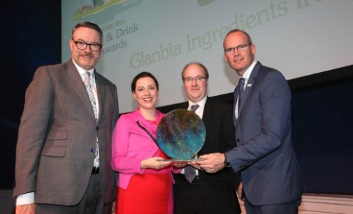 Glanbia Ingredients Ireland Wins Bord Bia Sustainability Award 2015