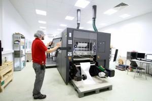 Digital Printer in the Print Cubus