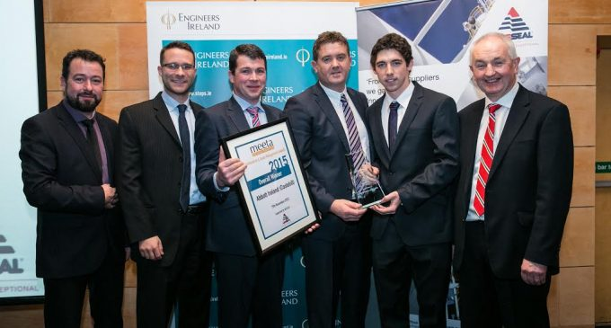 Abbott's Irish Nutrition Plant Wins Overall Award in Engineering
