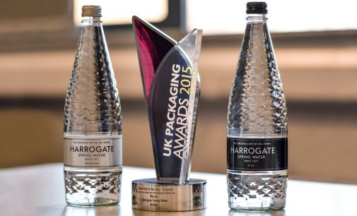 Ardagh and Harrogate Water won the Bottle Design Award