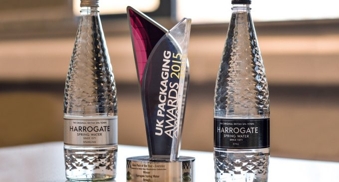 Ardagh and Harrogate Water won the Bottle Design Award