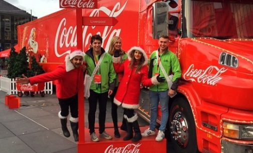 Coca-Cola Christmas truck tour returns with recycling push
