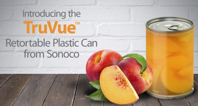 Sonoco lauches innovative clear plastic can