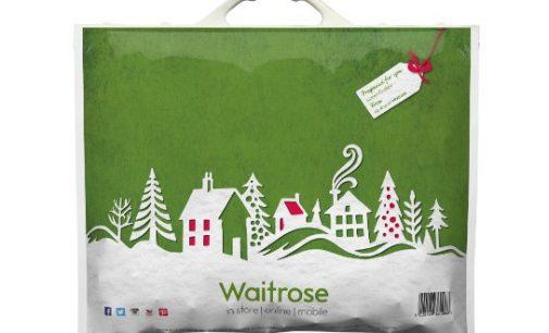 Ultimate Digital creates Xmas bags for Waitrose