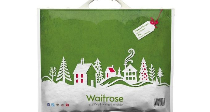 Ultimate Digital creates Xmas bags for Waitrose