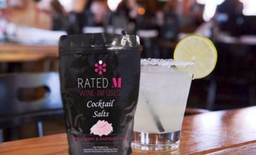 Widco's new wine-infused sea salts