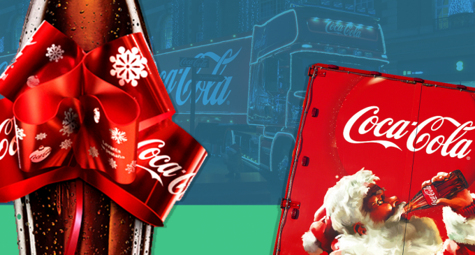Coca-Cola launches limited edition Christmas on-pack bow-design