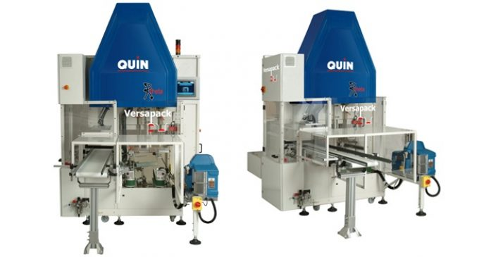 Quin Systems launches a new Versapack machine
