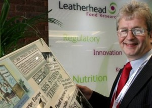 Professor Tony Hines, Director of Regulatory and Crisis Management at Leatherhead Food Research.