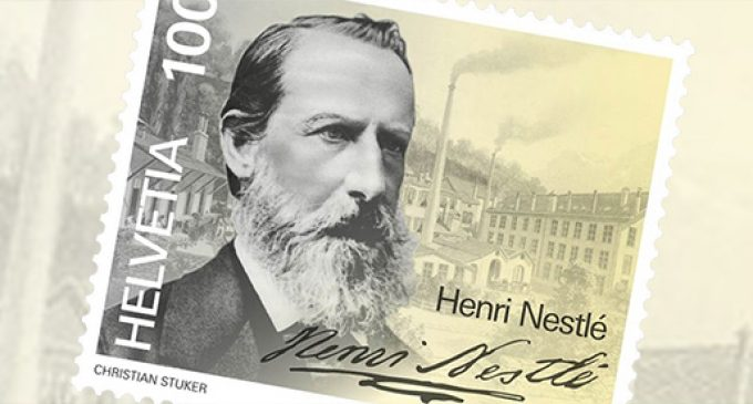 New Swiss Stamp to Honour Nestlé Founder