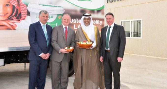 Ornua Opens €20 Million Cheese Manufacturing Facility in Saudi Arabia