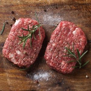 Fresh beef burger