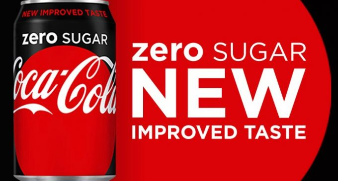 Coca-Cola Great Britain Introduces Coca-Cola Zero Sugar to Replace Coke Zero