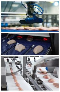 "The ""Robot with a Knife"" concept is a process which maximizes product use and avoids give-away."
