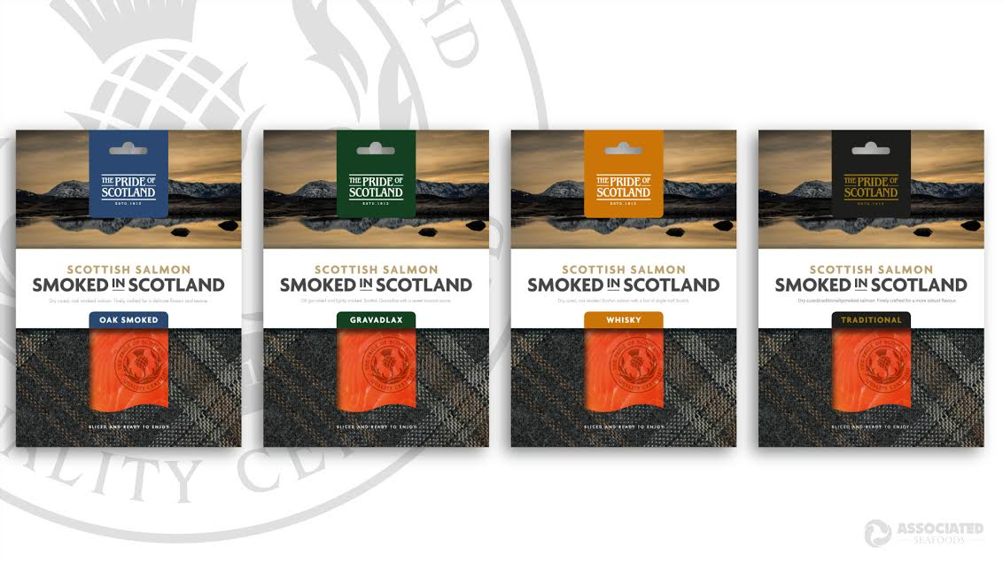 The Pride of Scotland Brand Gets a Makeover From Associated Seafoods