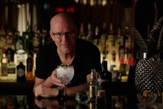 Bob Fowkes, co-Founder and Marketing Director of Brockmans Gin.