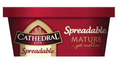 Dairy Crest Re-launches Cathedral City Spreadable Range