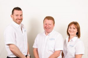 Direct Food Ingredients Directors left-Right,  Brigg Simpson, Steve Loake (MD), Cath Hough