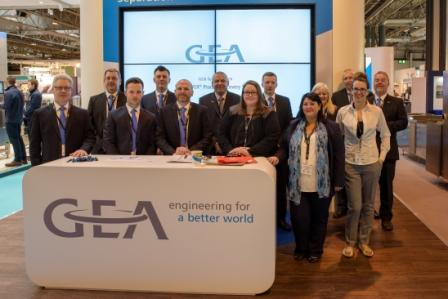 New GEA UK Makes Debut at Foodex