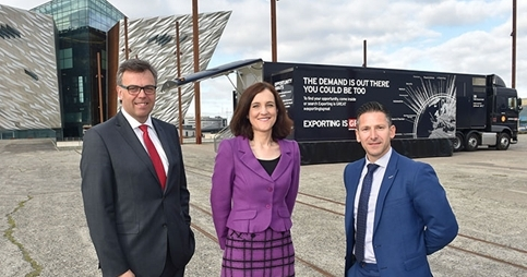 Exporting is GREAT Tour Rolls into Northern Ireland