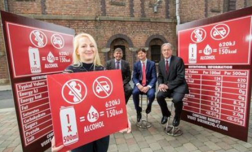 Diageo Ireland Introduces New Alcohol Labelling Standards