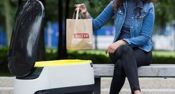JUST EAT to Pioneer Food Delivery by Self-­driving Delivery Robots in London