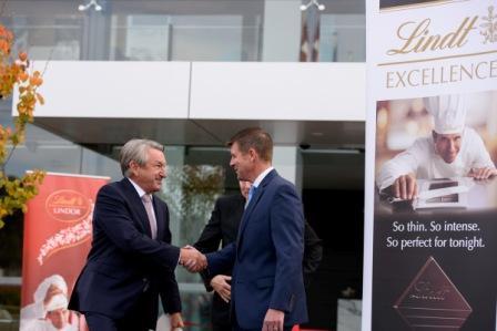 Lindt & Sprüngli Expands in Australia