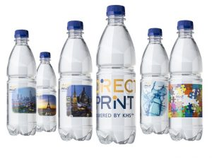 One of a kind: the direct printing of bottles is an effective way of appealing to customers with individualised designs. (Photo: KHS)