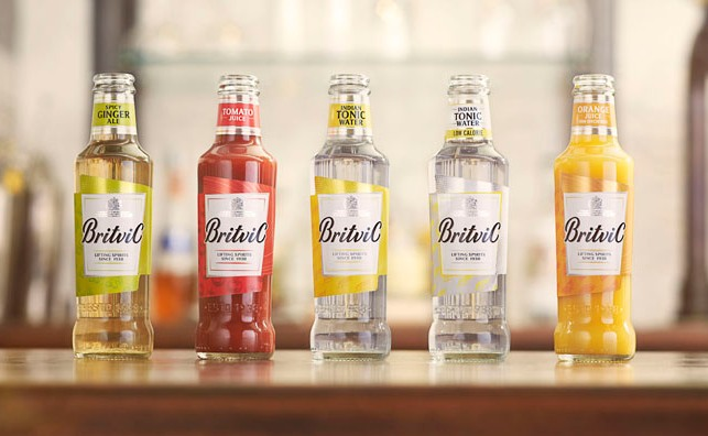 Britvic Re-launches Mixers and Juices Range
