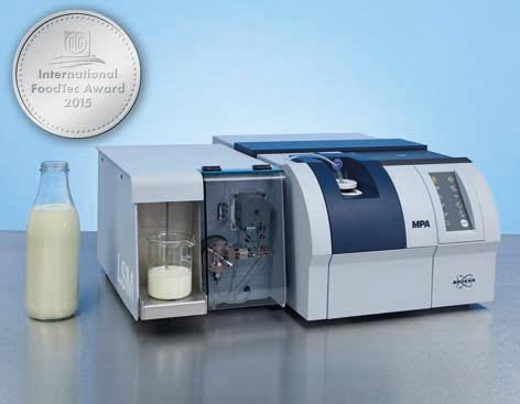 Quality Control of Milk and Milk Products With FT-NIR Spectroscopy