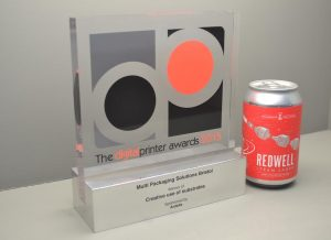 In 2015, MPS Bristol was presented with a coveted Digital Printer Award for a self-adhesive label just six months after installing the site's first digital press, a Domino N610i. The site won the category 'Creative Use of Substrates' which was one of just 15 awards that acknowledge the very best examples of digital print. The award was presented for a self- adhesive beer label for the craft brewer, Redwell based in Norfolk.