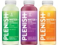 Plenish drinks get plush new bottle design