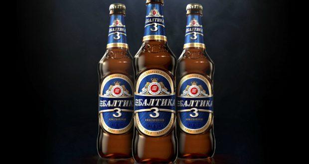 JDO gives Baltika beer a new bottle design