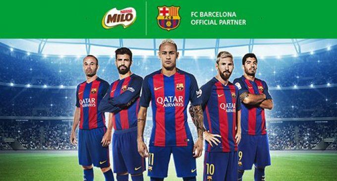 Nestlé and FC Barcelona Promote Healthier Lives
