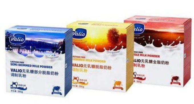 Valio Starts Selling Milk Powders to Chinese Consumers