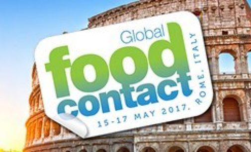 Global Food Contact Conference in Rome,  Italy 15-17 May 2017