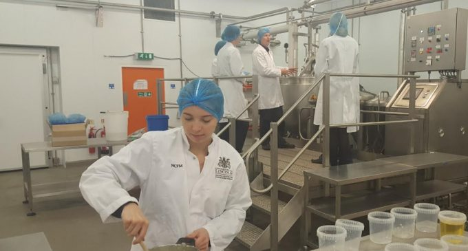 Graduate Trainees Taste the Future of Food Manufacturing