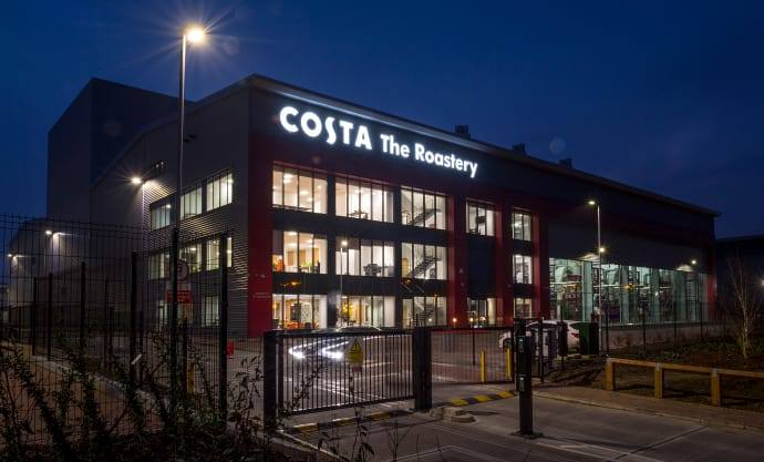 New £38 Million Roastery Fires Costa Growth Plans