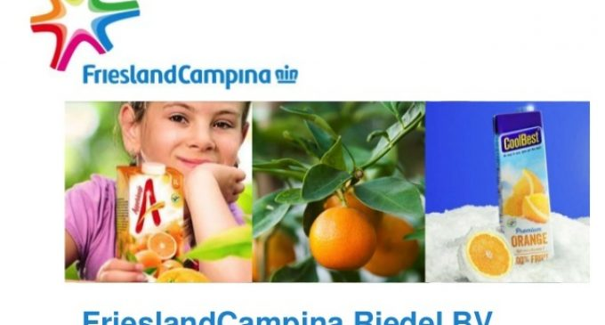 FrieslandCampina Considers Disposal of Fruit Juices and Fruit Drinks Business