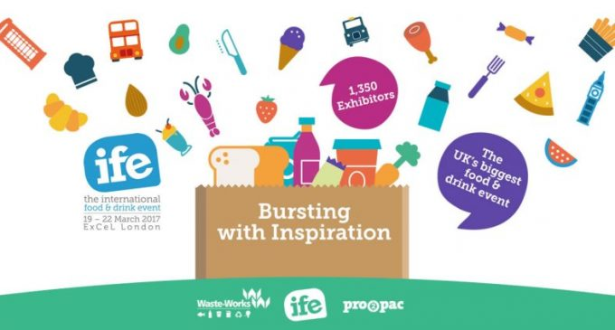 IFE 2017 – Bursting with Food and Drink Inspiration!